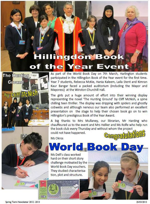 Hillingdon Book of the Year Event