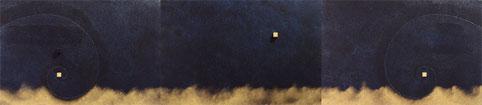 Super Warp Hole 4 (kon)  P6×3   1230mm×273mm (3pieces)   Acrylic 2012