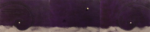 Super Warp Hole 5 (purple)  P6×3   1230mm×273mm (3pieces)   Acrylic 2012