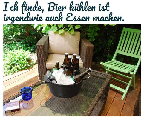 Ein schöner, kalter Topf voll Bier (Foto: Früherwisser Media)