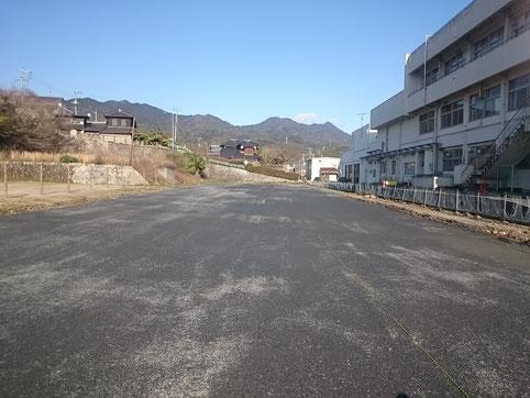 柳井商業高等学校跡地利活用公園駐車場整備工事