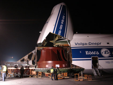 Volga-Dnepr is the world's largest operator of the mighty An-124-100 freighter  /  source: V-D