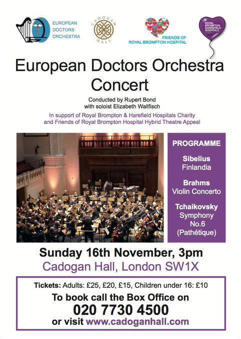 Concert leaflet