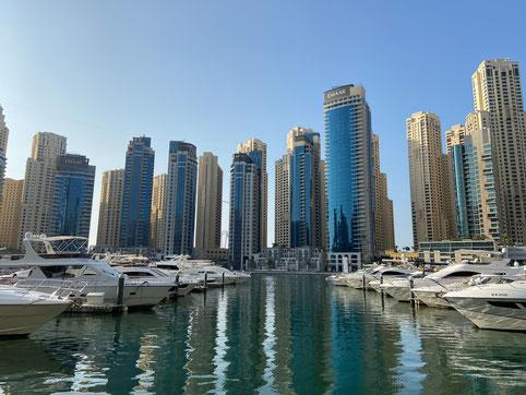 Die Dubai Marina-Eine beliebte Wohngegend in Dubai