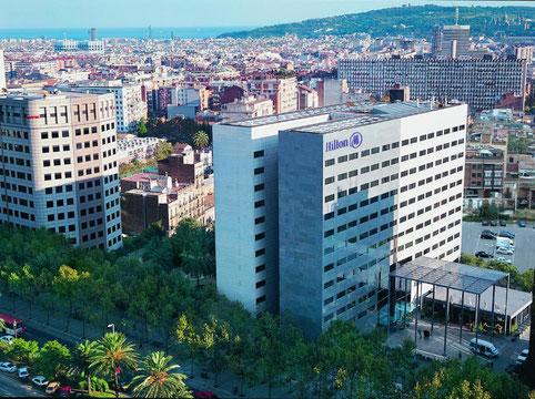Отели в престижной верхней зоне Барселоны
