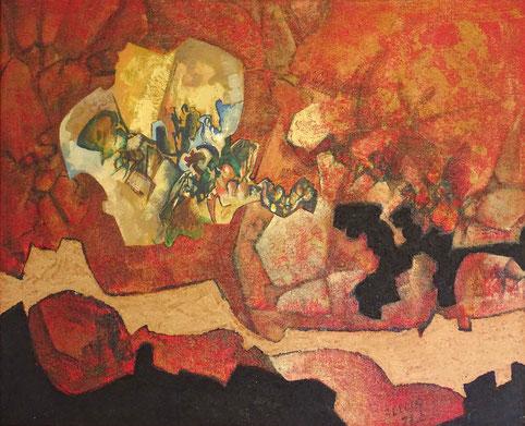 Espaces imaginaires, 101X82, 1977.