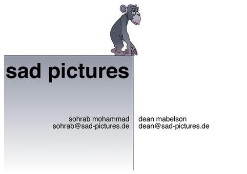 """Logoentwurf und Storyboard-Illustrationen (Kurzfilmprojekt """"Ein paar Millimeter"""", Producer: Sohrab Mohammad und Dean Mabelson)"""