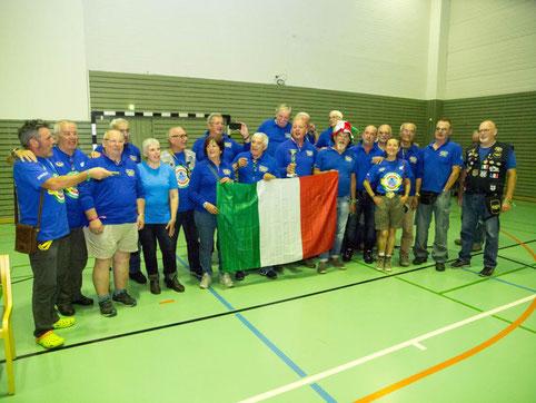 Italian voitosta voittoon tänä vuonna kiirinyt joukkue, joka osasi ottaa voitostaan kaiken irti.