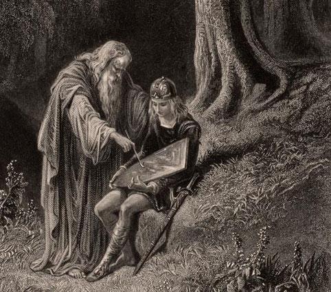 Un roi d sign par les dieux broc liande terre de - Le cycle arthurien et les chevaliers de la table ronde ...