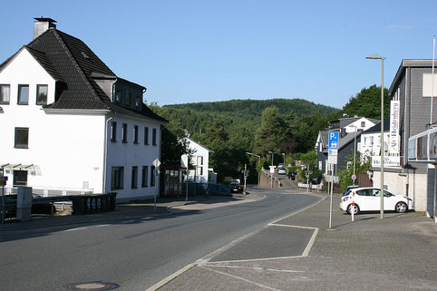 Heidenberg in Richtung Achenbach Ort