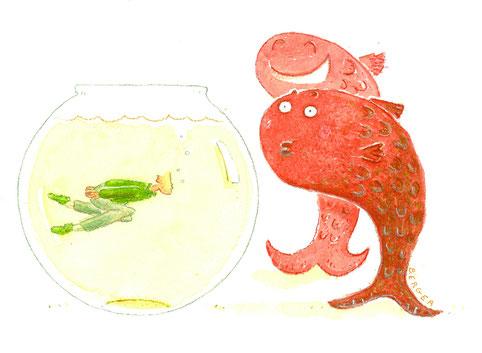 Bruno Humbeeck, Maxime Berger - Comment faire rire un poisson rouge