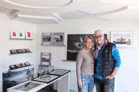 Achim Rohnke (Bavaria Film Chef) mit Frau Elke Benning-Rohnke (Managing Partner, Benning & Company)