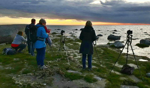 Fotografen am Kap Arkona