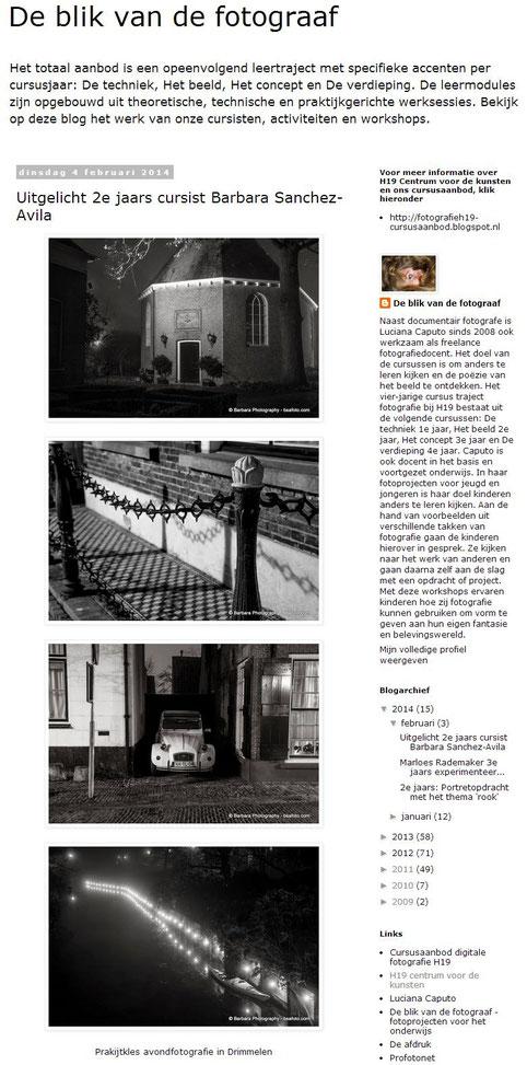 De blik van de fotograaf blog .