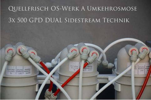 Osmose reverse osmosis