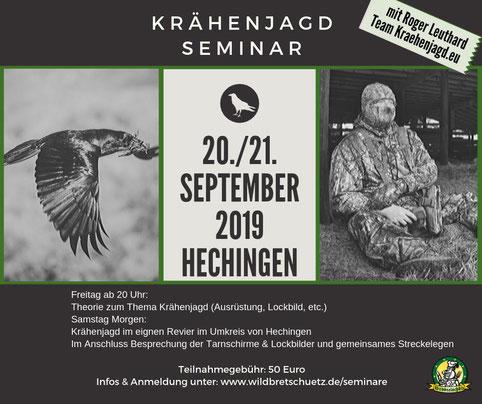 Krähenjagdseminar mit dem Team Kraehenjagd.eu