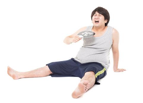 体を動かさずに腰痛になった奈良県広陵町の男性