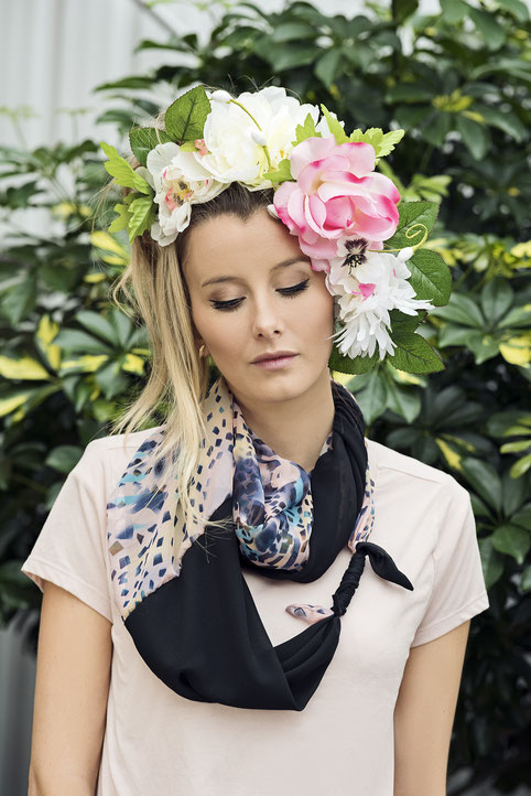 Exemple de foulard infini