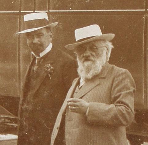 Theophil Schmidlin und Peter Halter