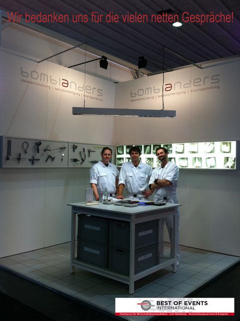 Labor auf der BOE 2012 in Dortmund