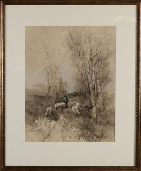 te_koop_aangeboden_een_kunstwerk_van_de_nederlandse_kunstschilder_johannes_josephus_garjeanne_1860-1930_impressionist