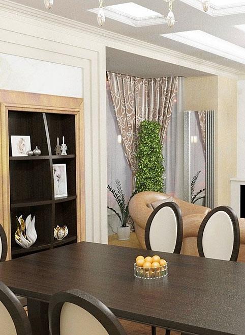 Дизайн интерьеров квартиры. Фотография коридора в квартире на наб. реки Мойки.