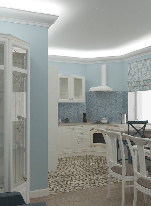 Дизайн интерьера квартиры в неоклассике
