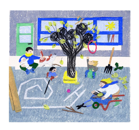 Julia Rabier enfants jeunesse illustration