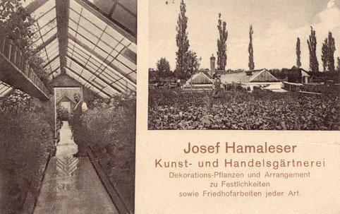 Postkarte aus dem Jahr 1909