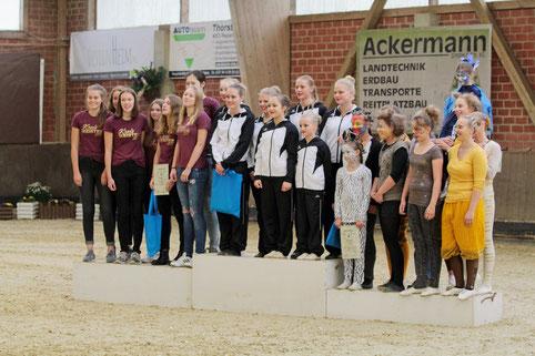 Insgesamt 5 Ehrungen gingen bei der diesjährigen Sportlerehrung des GSV Hüllhorst an den RVO.