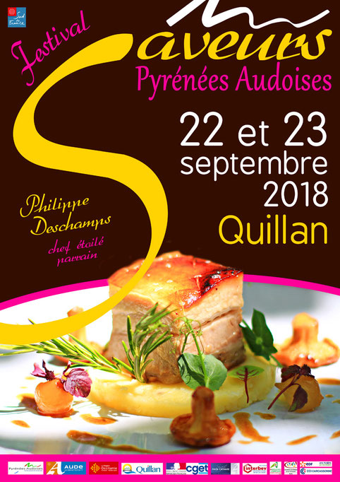 Festival des Saveurs Pyrénées Audoises 2018 - Quillan