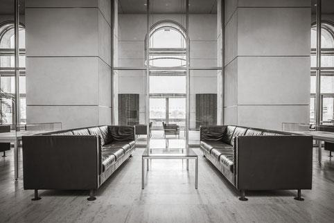 Sitzgruppe im Reichstagsgebäude, Berlin