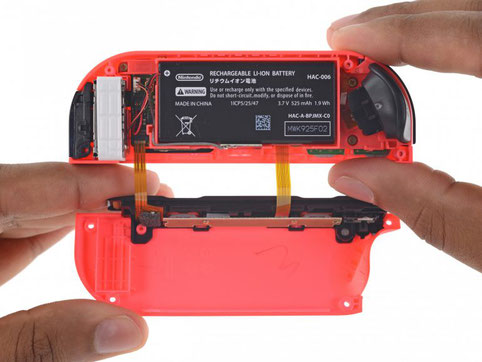 Schemes, disassembly, repair and review of the Nintendo