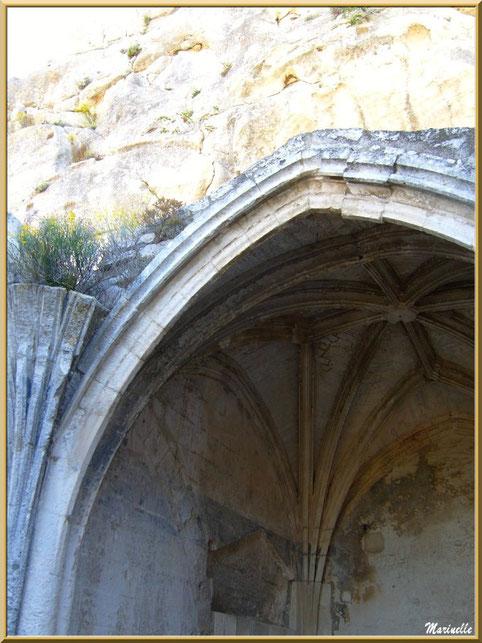 Chapelle castrale Sainte-Catherine, Château des Baux-de-Provence, Alpilles (13)