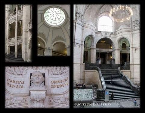 """Eingangshalle - Lutherbüste """"die Liebe ist die Sonne aller Werke"""""""