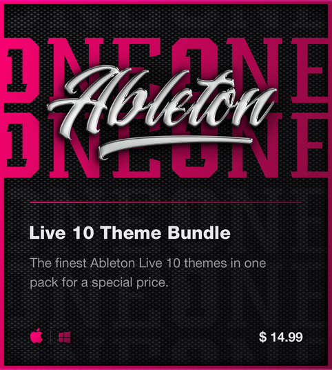 Ableton Live 10 themes