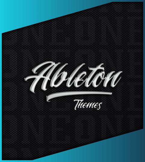 Premium Ableton Live 10 Theme/Skin PinkyBlue