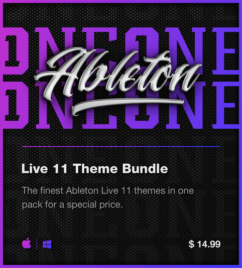 Ableton Live 11 themes