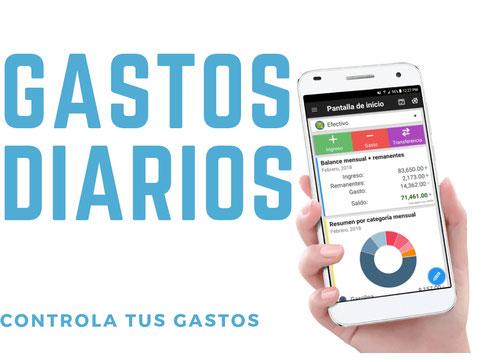Usa la app Gastos Diarios para mantener tus gastos bajo control - AorganiZarte -