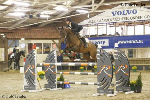 Don Willemsen met Orange Clover Carlou Balou (v. Cento). Foto FotoTrailer