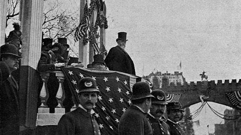 Nella foto il ventitreesimo Presidente degli Stati Uniti Benjamin Harrison