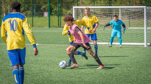 KickOff@3 football police RAF community initiative