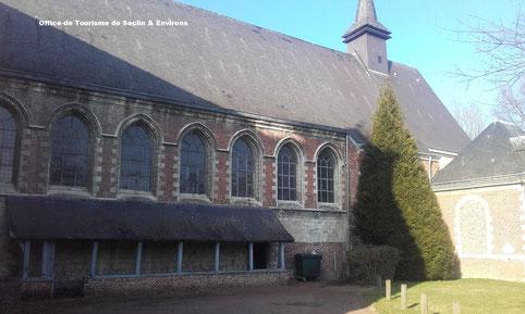 Hôpital Notre-Dame de Seclin : l'appentis de la Salle des Malades
