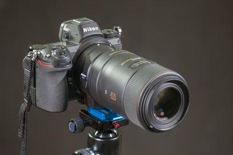 Nikon Z6 with Sigma 105 f2.8 EX-DG Macro-OS 1:1