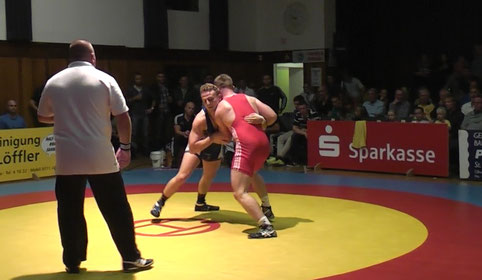 Niklas Kamm gegen Alexander Heit 86 kg gr.-röm.