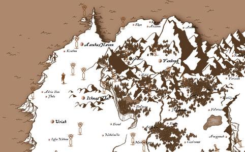 Fantasy Karte.Fantasy Karten Und Andere Updates Enny Wilsbrook Schreibberatung