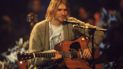 Kurt Cobain und seine D-18E