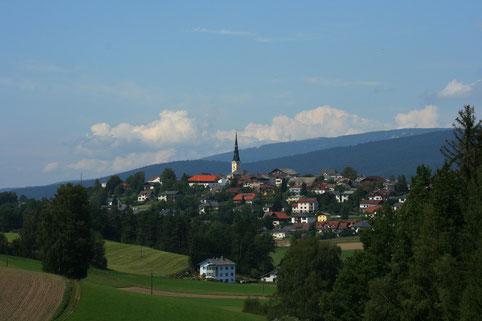 Marktgemeinde Ulrichsberg am Südhang des Böhmerwaldes - Mühlviertel - Oberösterreich - Österreich