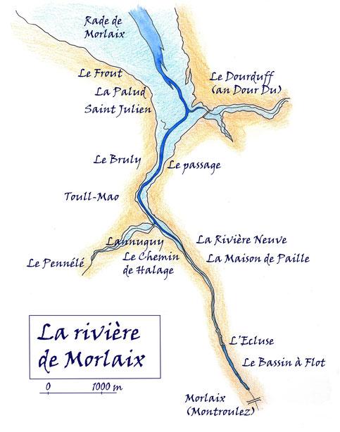 Les deux rivières bretonnes où l'on cirgue.