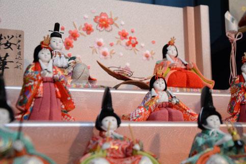 喜久絵の段飾り人形